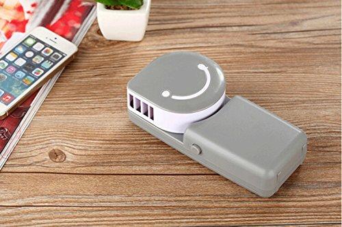 Table Desktop Bladeless Mini Fan, USB & Rechargeable Batt...