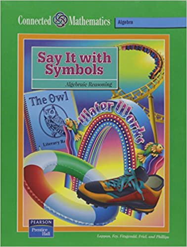 Buy Connected Mathematics Say It With Symbols Book Online At Low