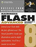 img - for Macromedia Flash 8 Advanced for Windows and Macintosh: Visual QuickPro Guide by Russell Chun (2005-12-22) book / textbook / text book
