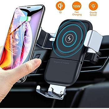 Amazon com: ROBOQI Automatic Wireless Car Charger, Qi-Certified