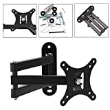 "Alotm Articulating TV LCD Monitor Wall Mount Full Motion 14"" Extension Arm Tilt Swivel Bracket for Most Samsung Sony LG Panasonic 13"" 15"" 17"" 19"" 20"" 22"" 23"" 24"" 26"" 27"" LED TV Flat Panel Screen"