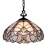 Amora Lighting Tiffany Style Hanging Pendant Lamp 16