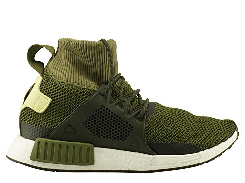 adidas Originals Unisex NMD_XR1 Winter Oliv Textil/Synthetik Winterschuhe Grün (Olive Cargo/Night Cargo/Umber 0)