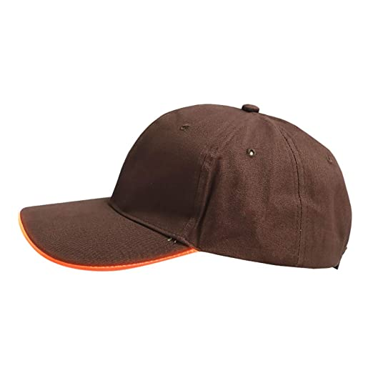 a8cb445f318 Suma-ma LED Lighted Up Hat Club Party Glowing Baseball Hats Visor Hip-Hop