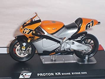 1//24 IXO PROTON K R SHANE BYRNE #67 MOTO GP 2005