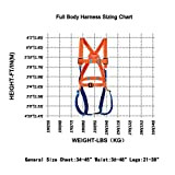 Full Body Safety Harness Tool Fall Protection