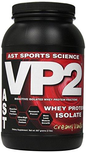 Ast Sports Science VP2  Creamy  Vanilla, 2.12-pound Tub
