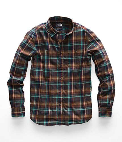 The North Face Men's L & S Hayden Pass 2.0 Shirt - Bracken Brown Hubert Plaid - XXL ()