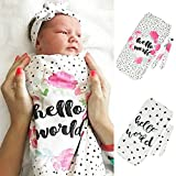 Sunbona Sleep Sack for Toddlers, Infant Newborn Baby Boys Girls Blanket Swaddle Stroller Wrap Sleeping Bag (A)