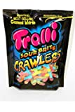Trolli Sour Brite Crawlers Gummy Candy, Assorted Flavors, 30.4 oz
