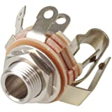 """S830-0.206/"""" Stereo Female Inline Jack Switchcraft Conxall NEW"""