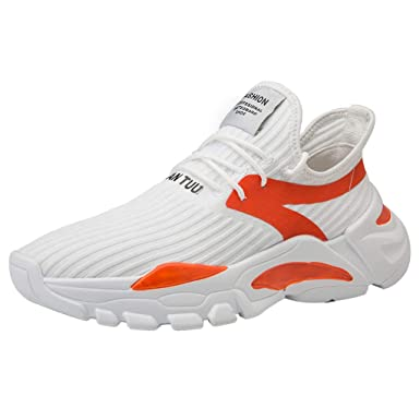 Zapatos para Hombres,ZARLLE al Aire Libre Tejeduría Zapatos para ...