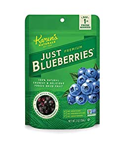 Karen's Naturals Just Tomatoes, Just Blueberries 2 Ounce Pouch (Packaging May Vary)