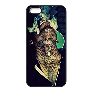 YUAHS(TM) Custom Case for Iphone 5,5S with Kid Ink YAS048488