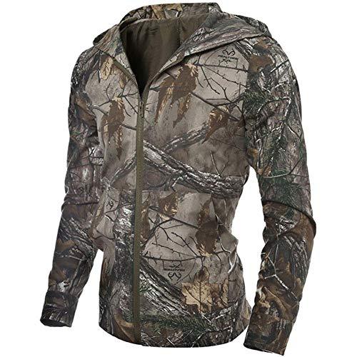 Moda Alla Giungla Combattimento Camouflage Top A Caccia Outdoor Con Uomo Pesca Vento Giacca Lunga Manica Militare Cappotti Da Cerniera Cappuccio Abbigliamento r4BHrq