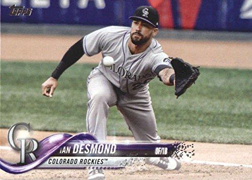 2018 Topps Series 2#559 Ian Desmond Colorado Rockies Baseball Card - GOTBASEBALLCARDS