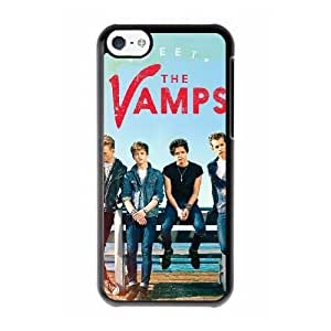 McFly 2 W4L3XU0I Caso funda iPhone 5c Caso funda del teléfono celular Negro