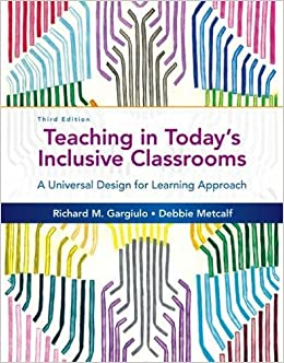 Teaching In Today's Inclusive Classrooms: A Universal Design For Learning Approach Downloads Torrent