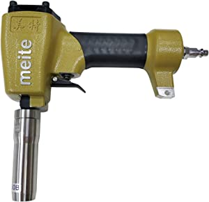 meite ZN1170B Pneumatic 29/64-Inch (11.70mm) Head Diameter Deco Nailer Replaceable Centring Sleeve for Upholstered Furniture (ZN1170B Deco Nailer)