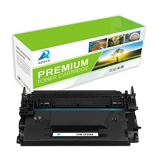 Aztech-1-Pack-Toner-Cartridge-Replaces-HP-26A-CF226A-Black-Standard-Yield-3100-pages-Used-for-Printers-HP-LaserJet-Pro-MFP-M426dw-M426fdw-M426fdn-M402dn-M402n-M402d-M402dw