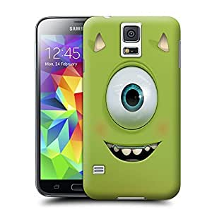 Unique Phone Case Characteristic pattern Mike Wazowski Hard Cover for samsung galaxy s5 cases-buythecase