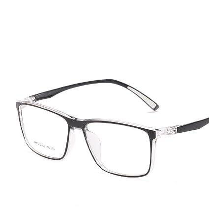 BiuTeFang Gafas de Sol Mujer Hombre Polarizadas Actual Plaza Plano Espejo Ultra luz TR90 Miopía Marco
