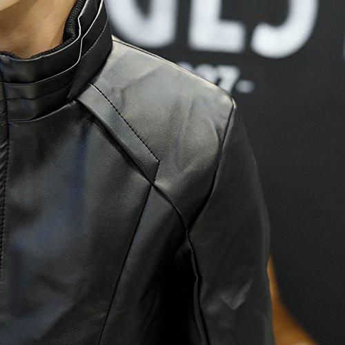 Coreana Della Molla Nero Uomo Elegante Casual Gioventù 4xl Di Uomini Autunno Giacca Versione Tendenza Il CwRcwFqX