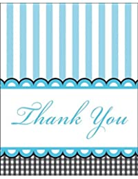 Creative Converting Sweet Baby Feet Blue Thank You Notes, 8-Count BOBEBE Online Baby Store From New York to Miami and Los Angeles