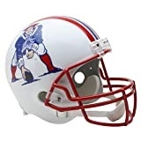 New England Patriots NFL 1990-92 Throwback Riddell Deluxe Replica Helmet
