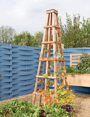 Gardener's Supply Company CedarLast Obelisk, 7-6 by Gardener's Supply Company