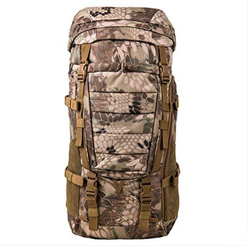 BUSL bolso del alpinismo del hombro de la mochila a prueba de agua al aire libre los hombres y las mujeres viajan capacidad de montar mochila de senderismo . b b