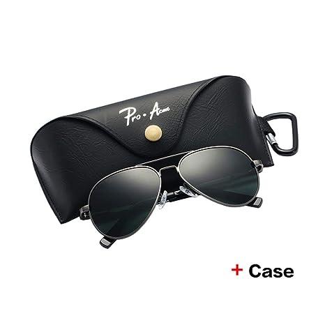 Yangjing-hl Gafas de Sol polarizadas pequeñas de Marca para ...