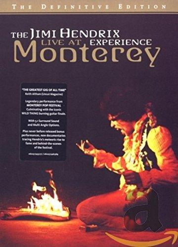 DVD : Jimi Hendrix - The Jimi Hendrix Experience: Live at Monterey