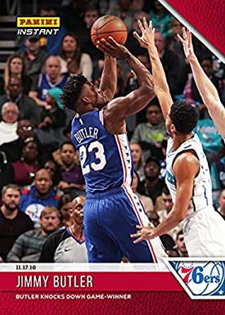 buy online 8df6d 797ec Amazon.com: 2018-19 Panini Instant NBA Basketball #40 Jimmy ...