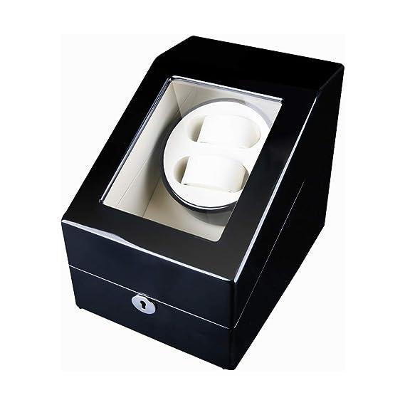 Watch Winder 2+3, Caja giratoria para 5 Relojes automáticos ...