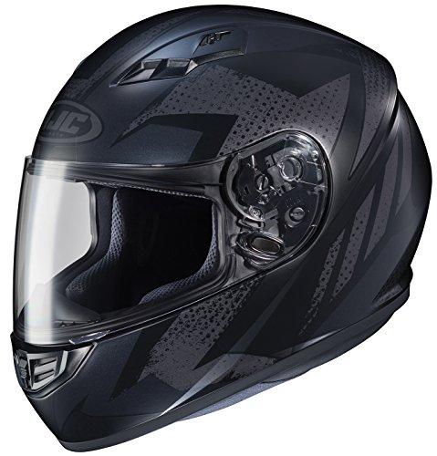 HJC Treague Mens CS-R3 Snow Racing Snowmobile Helmet - MC-1F Medium