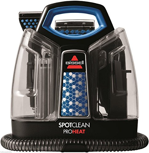 BRAND NEW Bissell 120V SpotClean Portable 2-Tank Deep Carpet Cleaner Heat Wave Technology by Greenland Love (Image #1)'