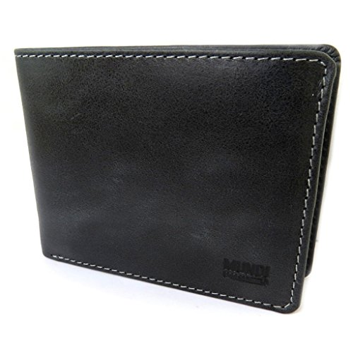 18'' Italian 92''x3 cm wallet leather 54''x1 4 5x9x3 'Mundi'vintage black 12 qnTPRxq1S