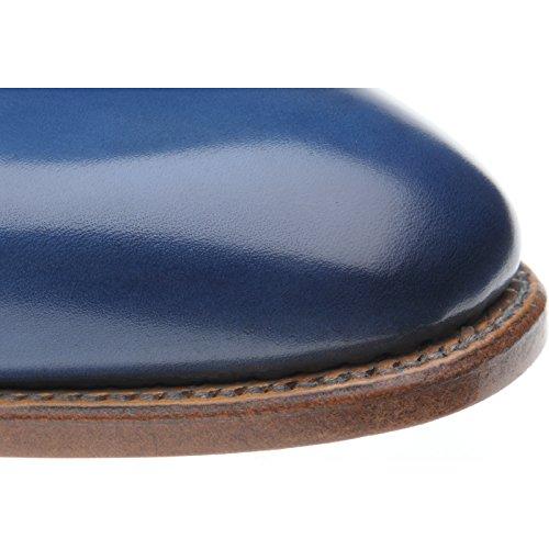 Herring Herring Chaucer Patina, Scarpe stringate uomo blu Blue Calf, blu (Blue Calf), 43 EU