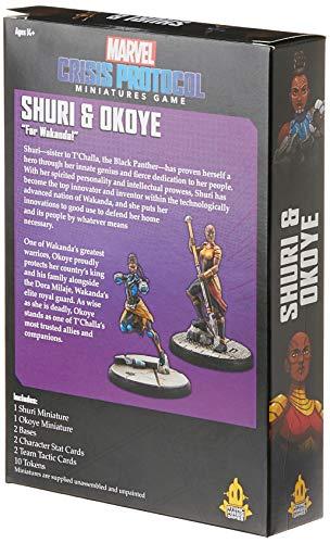 518IJUzoqRL Marvel Crisis Protocol: Shuri & Okoye
