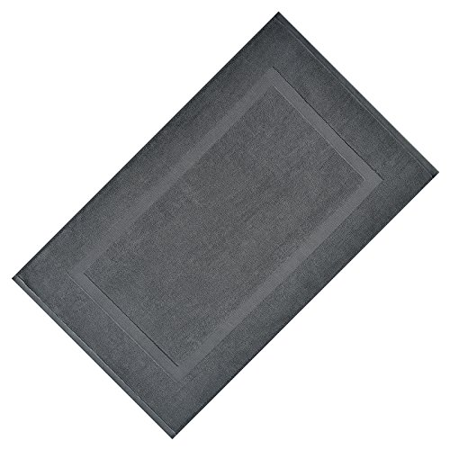 VEEYOO 100% Cotton Banded Bathroom Mat, Extra Soft and Absor