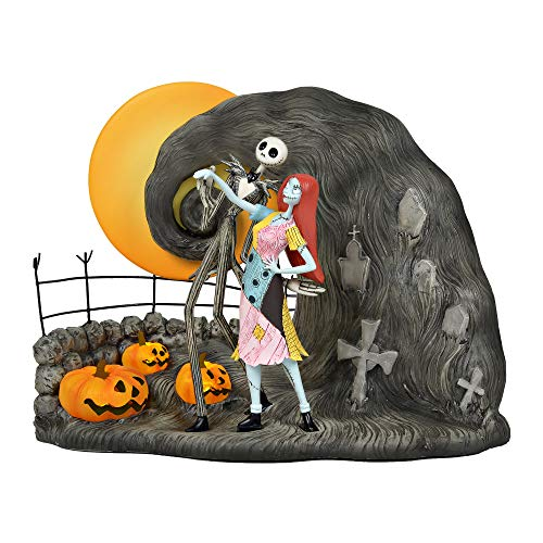 Department 56 Disney Classic Brands Nightmare Before Christmas Jack and Sally, 7.75
