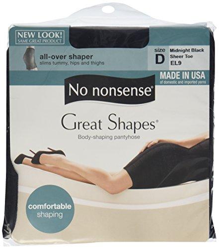 No Nonsense Enhancement Midnight Pantyhose product image