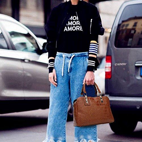 Top Design Mode Sac FemmesSac Pour Sacs à Main Brown BandoulièreElegant De à MainSacs à Handle Les De qnAg6O