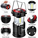 Wsky Rechargeable LED Water Resistant Camping Flashlight Lantern