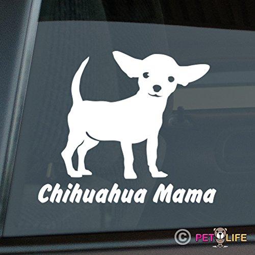 Chihuahua Mama Sticker Vinyl Auto Window Sticker