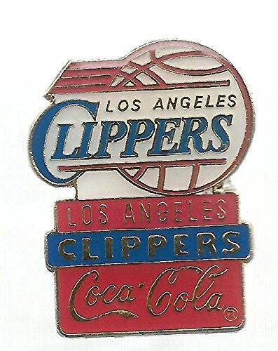 Hat Team Pin Collectible - Vintage Rare Original Los Angeles Clippers Coca Cola team NBA Basketball Hat Lapel Pins