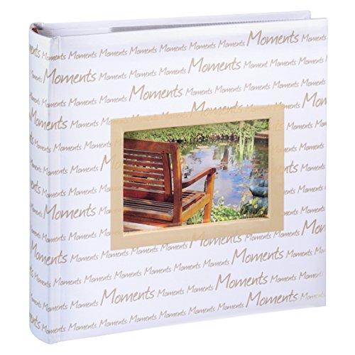 Hama Einsteck Fotoalbum La Vida (geeignet für 200 Fotos im Format 10 x 15 cm, 100 Seiten) sand
