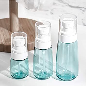 7478bc2be14e Layboo Airless Fine Mist Spray Bottles Refillable Travel Containers Water  Mister Clear Plastic Atomizer...