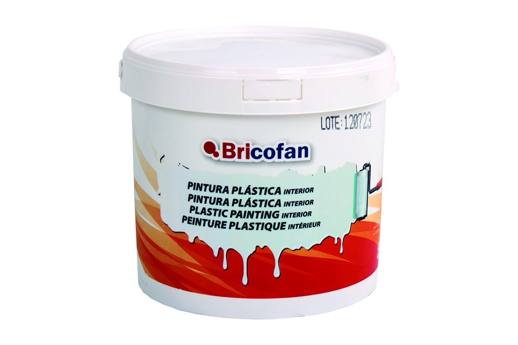 Cofan 15002380 - Pintura plá stica interior (5 kg) color blanco Cofan (COFB0)